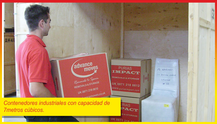 Removals in España